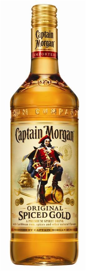 Captain Morgan Spiced Gold 0,7l-0